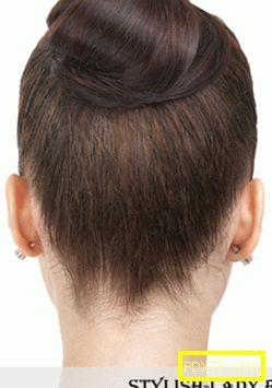 Елегантни прически за средна и дълга коса