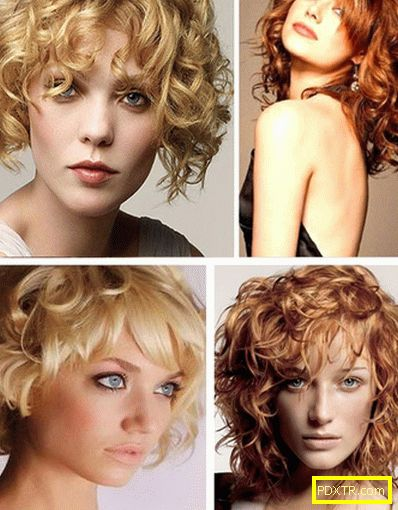 Модни бретончета на къдрава коса: опции с снимка