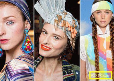 Модни прически за разширение на косата