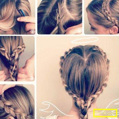 Как да плете красиво момиче, просто и първоначално