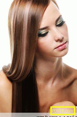 Как бързо да поправите повредената коса?