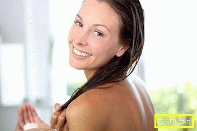 Дълбоко почистване на косата у дома