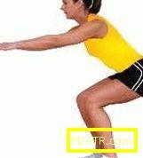Фитнес отслабване на задните части