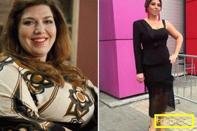 Известната загуба на тегло на екатерина скулкина: основните